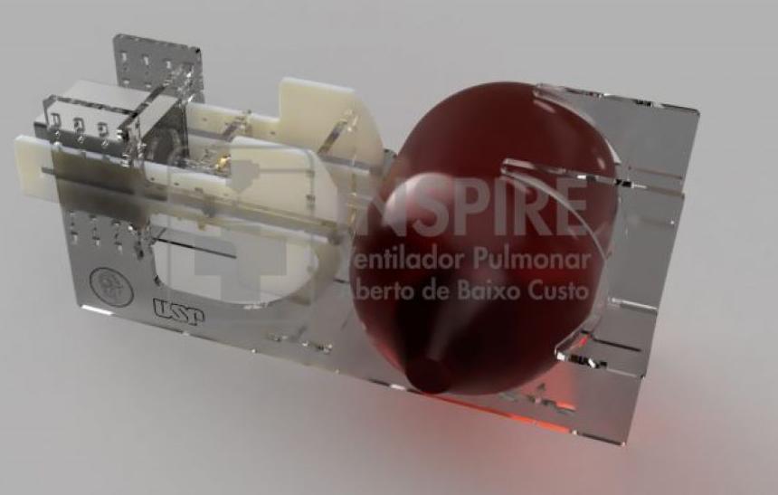 Coronavírus: USP cria projeto de ventilador pulmonar de baixo custo