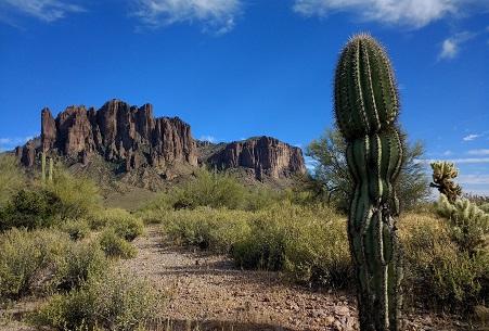 Arizona, Superstition Mountains