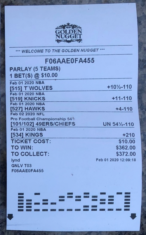 parlay golden nugget