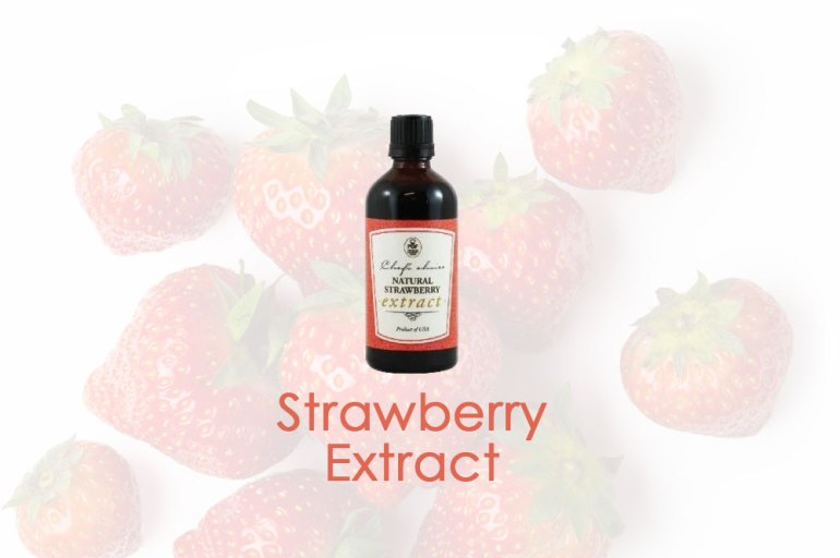 How to make Strawberry extract