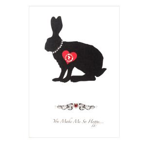 Love Zapz Rabbit Valentine's Augmented Reality Greeting Card