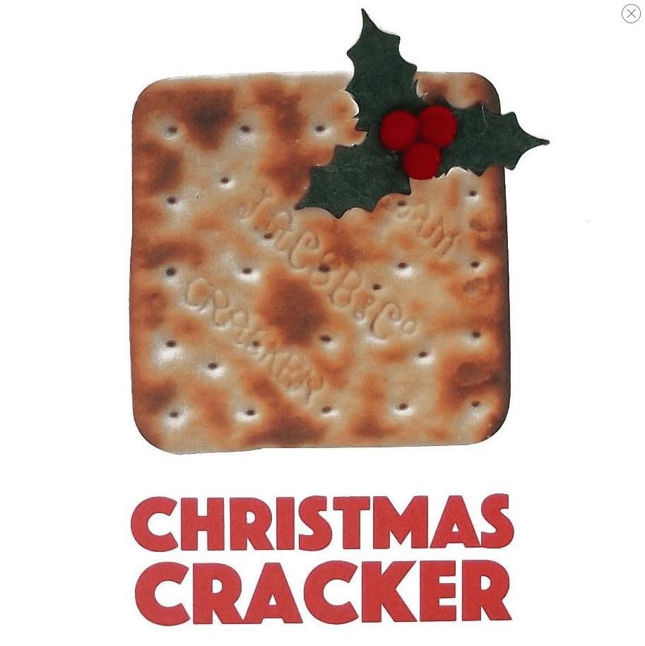 Christmas Cracker Square Greetings