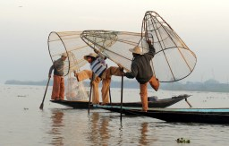 The fishermen of Inle Lake (Burma) (3)