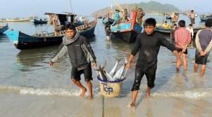 wioska rybacka - Birma (12)