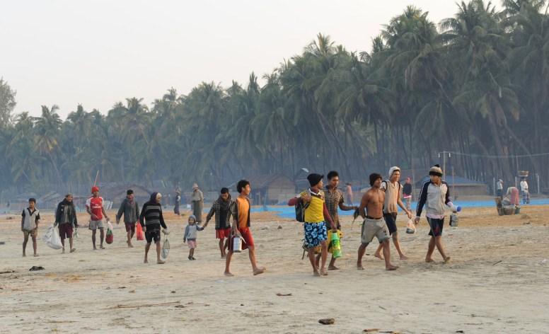 wioska rybacka - Birma (9)