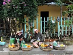 Sprzedawczynie owoców z Hoi An (WIETNAM)