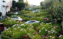 Lombard Street - najbardziej kręta ulica świata
