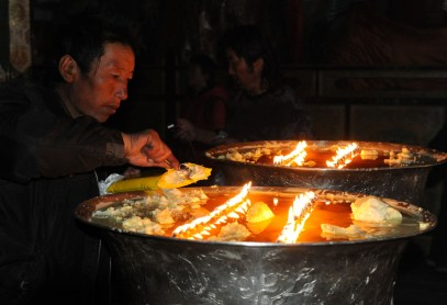 Klasztor Samje - Tybet (38)