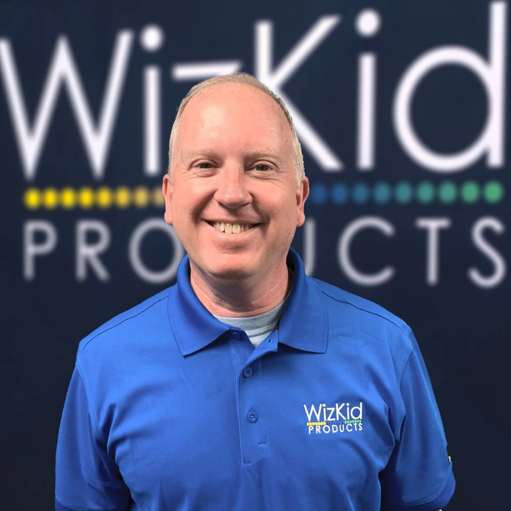 Rick Harris, Operations Manager at WizKid Products