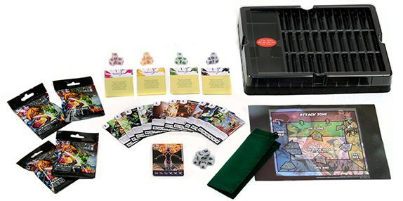 DC Comics Dice Masters: War of Light Play Collector's Box
