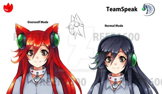 TeamSpeak Anime