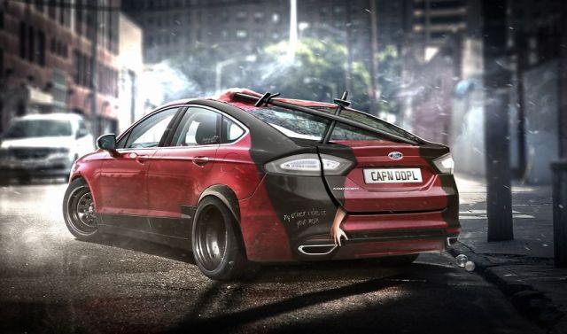 Deadpool – Ford Mondeo Fusion