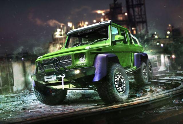 The Hulk – Mercedes G63 AMG 6×6