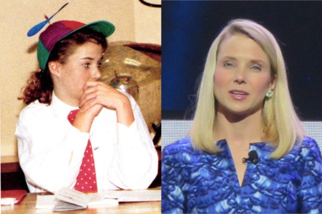 marissa-mayer-ceo-of-yahoo-old-high-school-picture