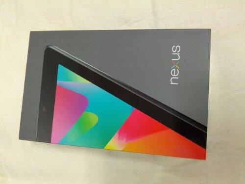Nexus 7 を買った