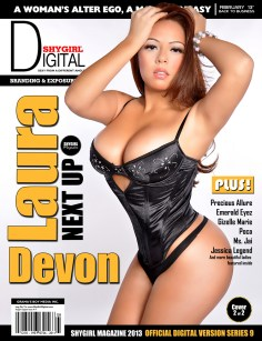 Laura Devon Cover Main Shygirl Magazine.thewizsdailydose