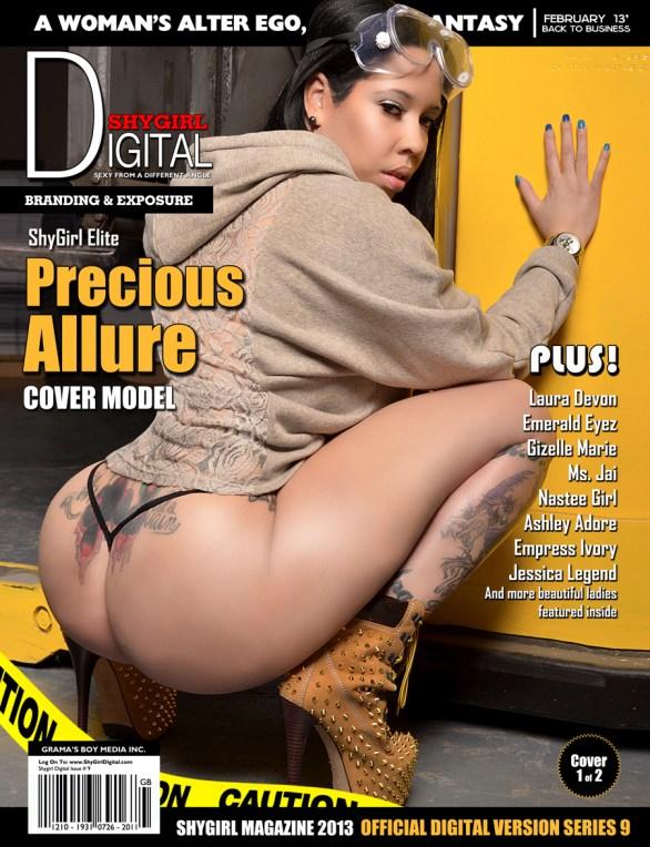 Precious Cover Main Shygirl Magazine.thewizsdailydose