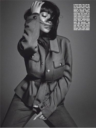Nicki-Minaj-shirt-and-tie-004-L'Uomo-Vogue-Italia-wizsdailydose.com