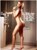 Sally-Ferreira-naked-in-the-shower-showing-off-her-booty-for-Smooth-Girl-Magazine