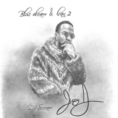 Juicy J - blue dream and lean 2 cover