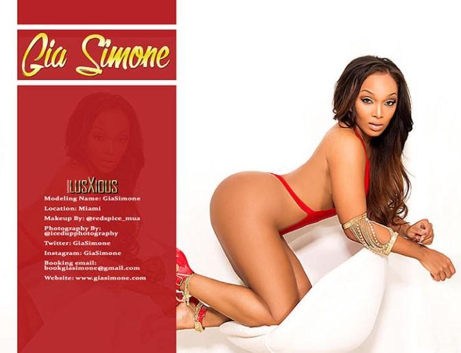 Gia Simone Lusxious Magazine issue