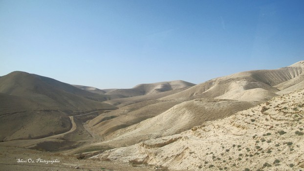 The Desert on the Jericho-Jerusalem Road