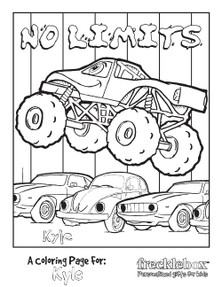 Monster Jam Party Games and Activities