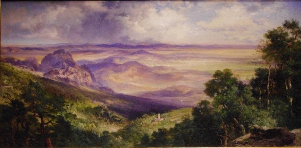 Valley of Cuernavaca oil on canvas, 1903, Thomas Moran Smithsonian American Art Museum