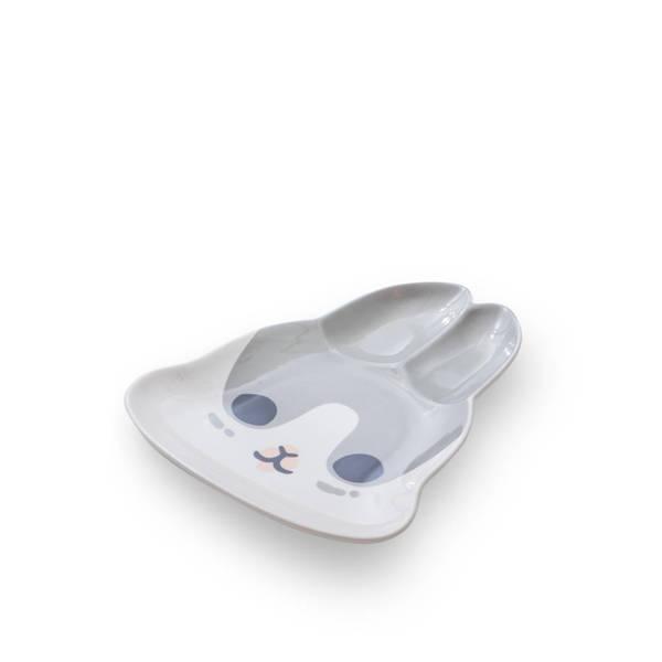 ㄇㄚˊ幾兔-兔型陶瓷盤-咕幾