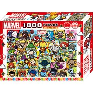 漫威 卡哇伊1000片盒裝拼圖