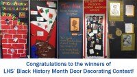 Black History Month door decorating contest  Lafayette ...