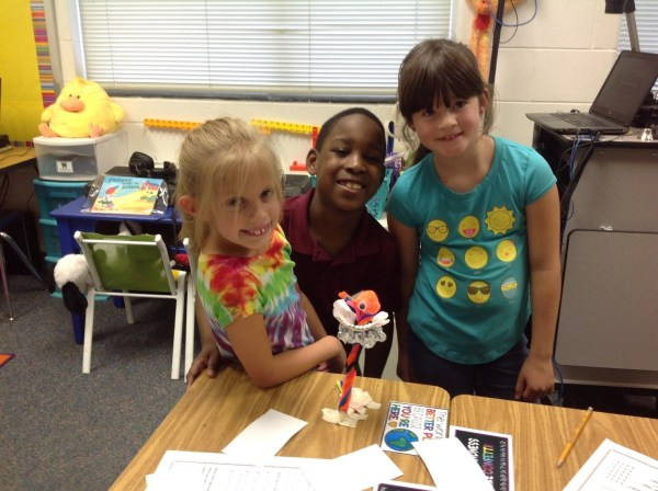 Ms. Parsons 2nd Grade Stem Projects Norge Elementary School