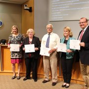 Virginia School Board Association recognizes WJCC Board Members