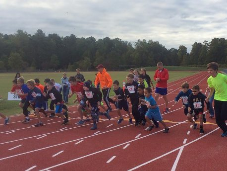 Greater Williamburg Distance Running Club 1 and 2 Mile Elementary and Middle School Challenge