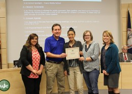 Richard Aadahl and his students for receiving the VASTAR (Virginia Star) Best Practice award