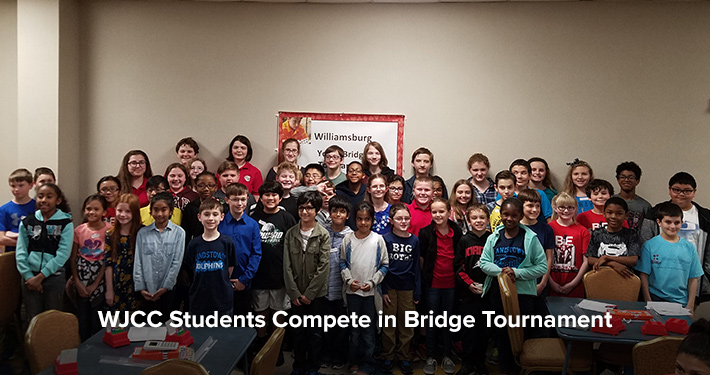 WJCC Students Compete in Bridge Tournament