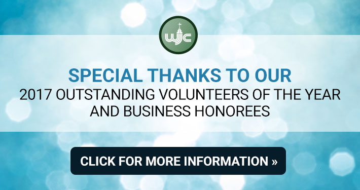 Special Thanks to our 2017 Outstanding Volunteers of the Year and Business Honorees
