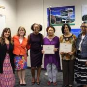 Jamestown & Lafayette - W!SE Blue Star School Award