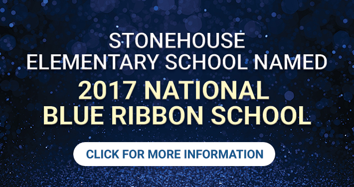 Stonehouse 2017 National Blue Ribbon School