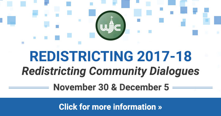 Redistricting Community Dialogues - November 30 and December 5 - Click for more information