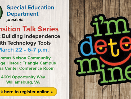 Transition Talk Series Topic - Building Independence with Technology Tools