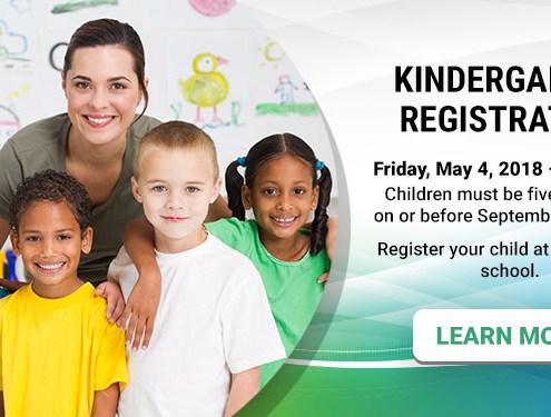Kindergarten Registration - May 4 - 9:30 a.m.