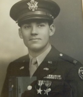 Ed Burke in uniform.