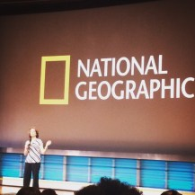 we also saw, Susan Goldberg, editor in chief if National Geo.