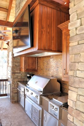 Grilling and Kitchen Area
