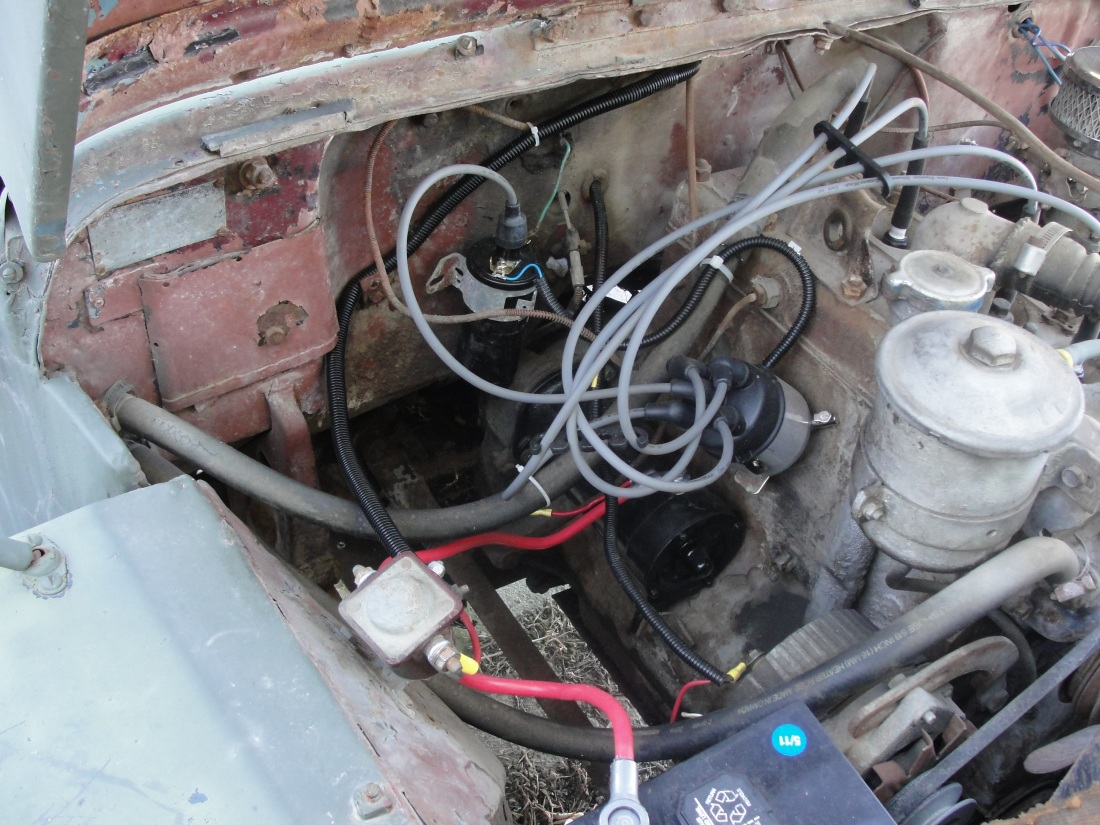 1948 Willys CJ2 Jeep Re-wiring Part 1