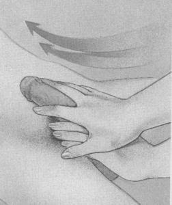 图解:男性生殖器按摩技巧