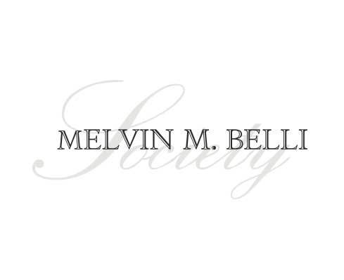 Melvin M Belli Society