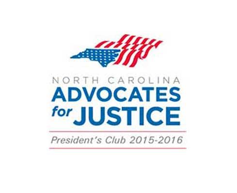 William K. Goldfarb North Carolina Advocates for Justice President's Club