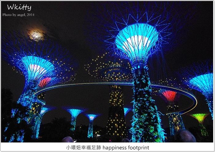 【新加坡自由行(11)】超級樹燈光秀~好美!阿凡達電影場景重現!
